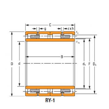 Bearing 770rX3151 Four row cylindrical roller bearings